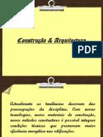 Construção & Arquitectura  Pedro Cerîaco