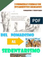 nomadismo sedentarismo