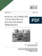 Manual de Equipos de Riego Presurizado