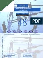 """Cuaderno048 La """"Revolución"""" Institucional de La Empresa"""