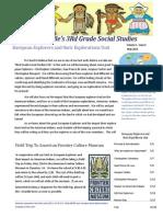 curriculum unit newsletter