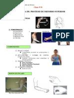 Clase 8.Prótesis Miembro Superior