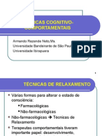 Técnicas cognitivo-comportamentais