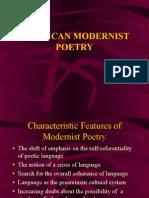 American Modernist Poetry