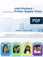 (C7) HP Deskjet Printer Supply Chain