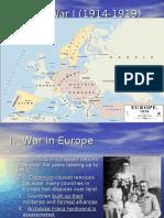 World War I Power Point