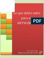 Manual Del Networker - Don Failla