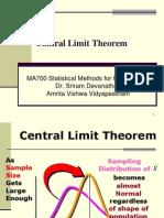 19Lecture - Central Limit Theorem