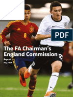 The Fa Chairman's England Commission Report 2014