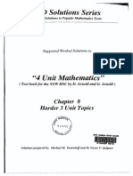 Arnold Harder 3 Unit Solutions