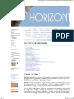 Revista Horizonte Normas