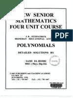 Fitzpatrick Polynomials Solutions