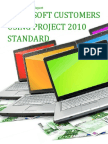 Microsoft Customers using Project 2010 Standard - Sales Intelligence™ Report