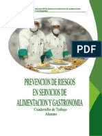 Prevencion de Riesgos en Servicios de Alimentacion Ma