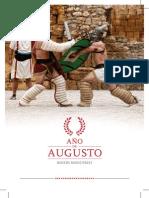 Programa de Actividades del Año de Augusto en los Museos municipales de Zaragoza (2014)