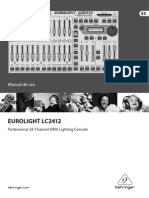 Eurolight LC2412 Manual Español