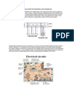 Explaination Electric Installation for Residential and Commercial