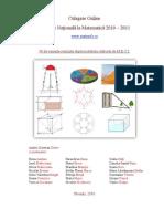 Culegere Online Cu 90 de Teste Pentru Evaluarea Nationala La Matematica111