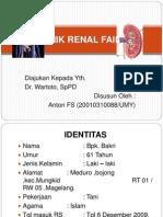 Ppt Cronik Renal Failure [ Crf ] Anton Fs