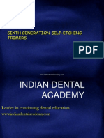 6th Generation Self Etching Primers -Endo / orthodontic courses by Indian dental academy