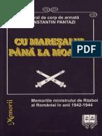 Constantin Pantazi-Cu Maresalul Pana La Moarte