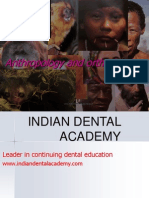 Anthropology ORTHO / orthodontic courses by Indian dental academy