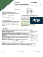 Enoncé Sujets Type Bac Calcul Intégral