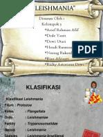 PP Makalah Parasitologi Ttg Leishmania
