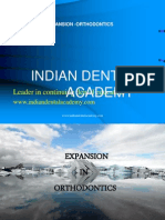 Arch Expansion in Orthodontics / orthodontic courses by Indian dental academy