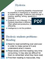 Dyslexia Presentation