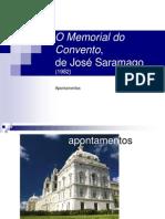 Memorial Do Convento Caracteristicas