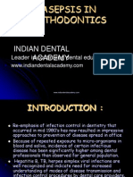 Asepsis in Orthodontics / orthodontic courses by Indian dental academy