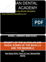 Assessment of Bone Density-OrTHO / orthodontic courses by Indian dental academy