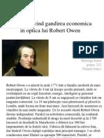 Studiul Privind Gandirea Economica in Optica Lui Robert