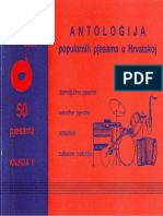 Antologija Popularnih Pjesama u Hrvatskoj 5