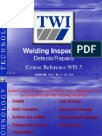 Weld Defects- Repairs
