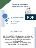 Clase de Derma Dermatofitosis Infecciones Bacterianas Olores