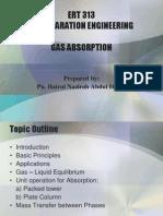 Gas Absorption