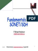 SONET SDH Presentation