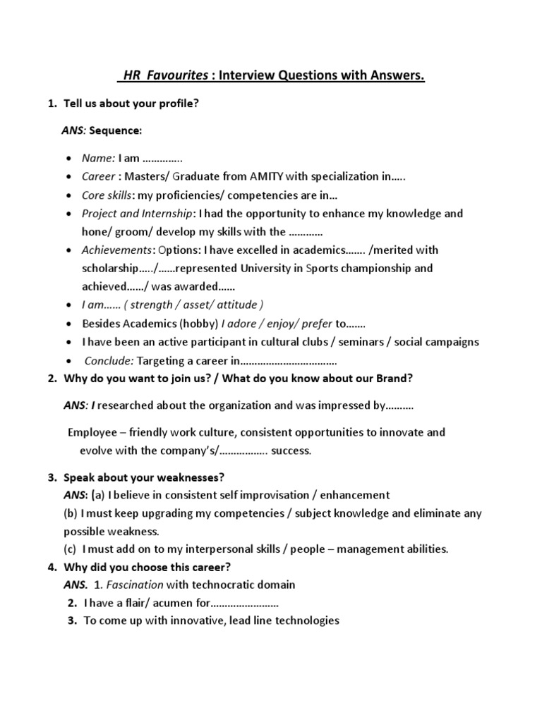 fd50binterview questions with answers 1 17 competence human resources action philosophy - Why Did You Choose This Career Interview Questions And Answers