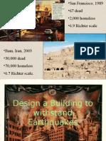 Earthquake Proof Buildings