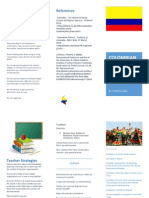 edu 365 colombian culture brochure