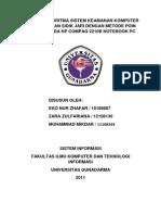 Jurnal Analisa Algoritma Sistem Keamanan Komputer
