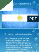 Demogracia y Autoritarismo