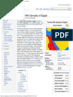 Twenty-fifth Dynasty of Egypt