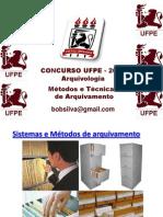 Aulas Ufpe 2014 Métodos e Técnicas de Arquivamento