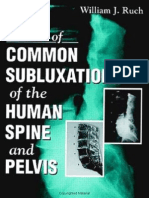 Atlas of Common Subluxations of the Human Spine & Pelvis