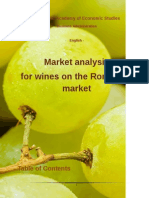 Market Analysis for Wines on the Romanian Market Reg