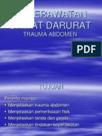 Askep Trauma Abdomen
