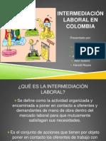 Intermediación Laboral en Colombia